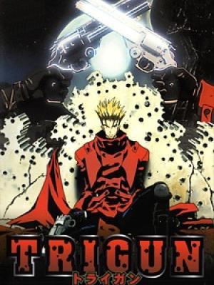 Poster depicting Trigun