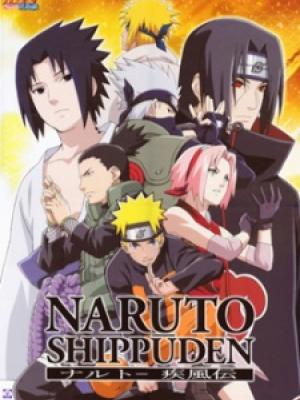 Poster depicting Naruto: Shippuuden