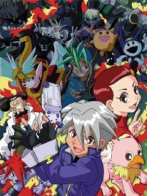 Poster depicting Shin Megami Tensei Devil Children