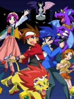 Poster depicting Shin Megami Tensei Devil Children: Light & Dark